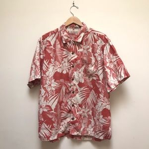 Tommy Bahama | 100% Linen Palms Aloha Camp Shirt